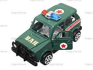 Инерционный городской автомобиль, 730ABCD, игрушки