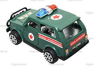 Инерционный городской автомобиль, 730ABCD, детские игрушки