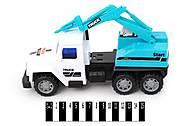 Инерционный грузовик , 6288G, фото