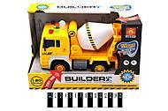 Инерционный грузовик - бетономешалка, WY510В
