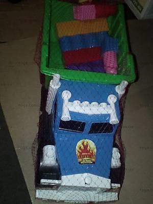 Инерционный грузовик с лопаткой для детей, 12-010
