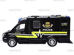 Инерционный грузовик «Спецслужбы», 11258, детские игрушки