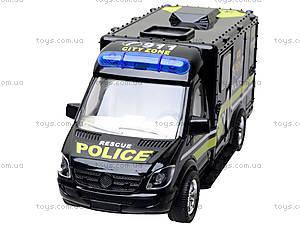 Инерционный грузовик «Спецслужбы», 11258, магазин игрушек