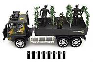 Инерционный грузовик «Военный», 328-2