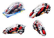 Инерционный мотоцикл для детей Spiderman, 894-1, фото