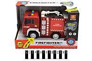 Инерционный пожарный грузовик, WY520А, игрушка