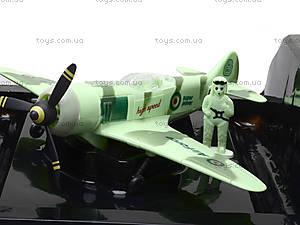 Инерционный самолет со световыми эффектами, 529-01, купить