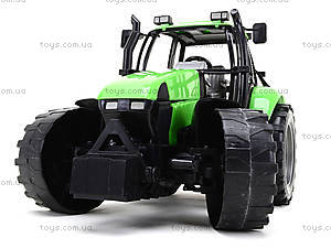 Инерционный трактор, для детей «Фермер», 1089B, фото