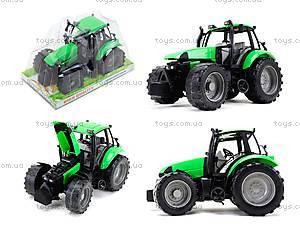 Инерционный трактор, для детей «Фермер», 1089B