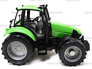 Инерционный трактор, для детей «Фермер», 1089B, отзывы
