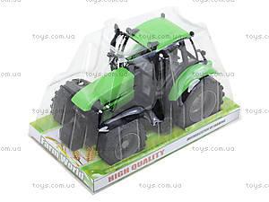Инерционный трактор, для детей «Фермер», 1089B, игрушки