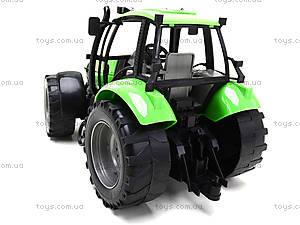 Инерционный трактор, для детей «Фермер», 1089B, магазин игрушек