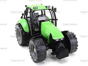 Инерционный трактор, для детей «Фермер», 1089B, toys.com.ua