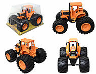 Инерционный трактор для детей «Фермер», 4910B, фото