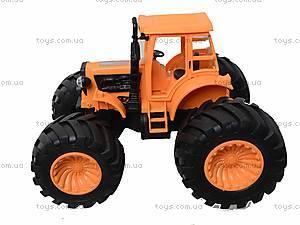 Инерционный трактор для детей «Фермер», 4910B, игрушки