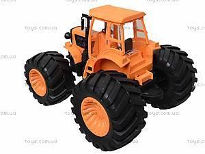 Инерционный трактор для детей «Фермер», 4910B, детские игрушки