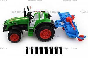 Инерционный трактор  «Фермер», 0488-112