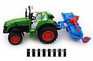 Инерционный трактор  «Фермер», 0488-112, фото