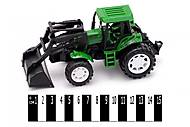 Инерционный трактор Фермер, 809A, купить