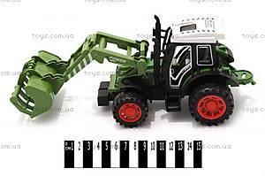 Инерционный трактор с ковшом, 4007A-1