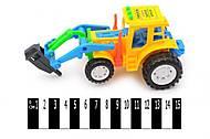 Инерционный трактор с краном, 818-7