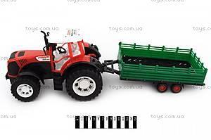 Инерционный трактор с прицепом , 0488-208