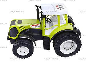 Инерционный трактор с прицепом «Фермер» для детей, 0488-213, фото