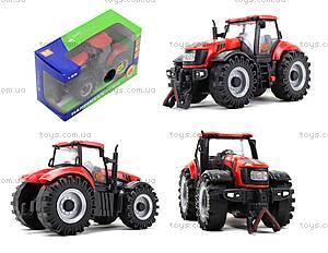Инерционный трактор со звуковыми и световыми эффектами, MK1015S