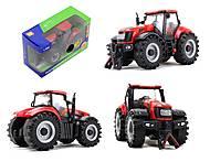 Инерционный трактор со звуковыми и световыми эффектами, MK1015S, фото