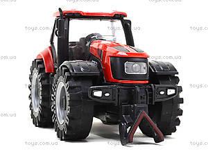 Инерционный трактор со звуковыми и световыми эффектами, MK1015S, отзывы