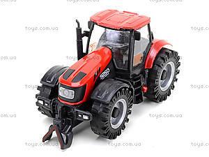Инерционный трактор со звуковыми и световыми эффектами, MK1015S, игрушки