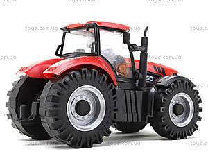 Инерционный трактор со звуковыми и световыми эффектами, MK1015S, детские игрушки