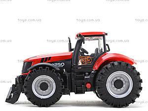 Инерционный трактор со звуковыми и световыми эффектами, MK1015S, магазин игрушек