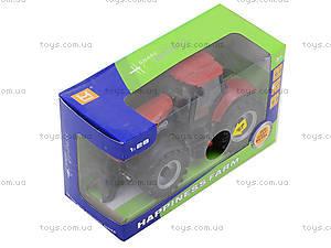 Инерционный трактор со звуковыми и световыми эффектами, MK1015S, toys.com.ua