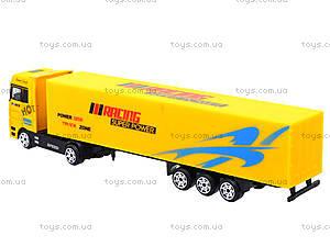Инерционный трейлер металлический, TY700, магазин игрушек