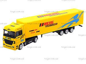 Инерционный трейлер металлический, TY700, toys.com.ua