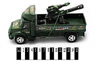 Инерционный военный грузовик для мальчиков, 1120-2, фото