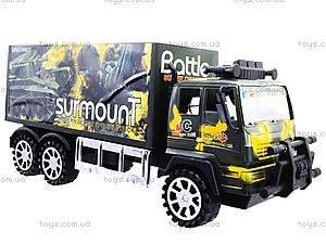 Инерционный военный грузовик Surmount, 328-3, фото