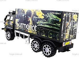 Инерционный военный грузовик Surmount, 328-3, отзывы