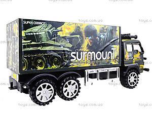 Инерционный военный грузовик Surmount, 328-3, цена