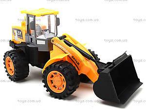 Инерционный игровой трактор , 623, toys