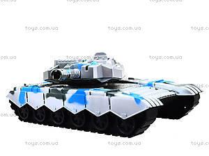 Инерционный игрушечный танк для детей, K777, фото
