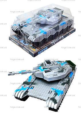 Инерционный игрушечный танк для детей, K777