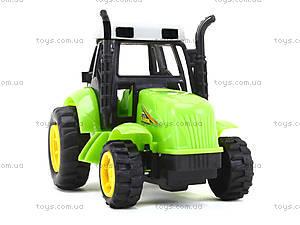 Инерционный игрушечный трактор для детей, 1120-1, купить