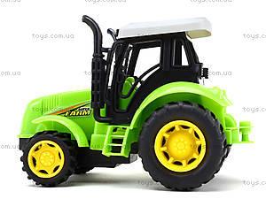 Инерционный игрушечный трактор для детей, 1120-1, цена