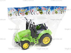 Инерционный игрушечный трактор для детей, 1120-1, игрушки