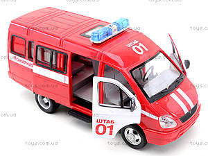 Инерциоонный микроавтобус «Пожарная охрана», 9098-A, Украина
