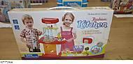 Интерактивная кухня для детей, с посудой, 662A, отзывы