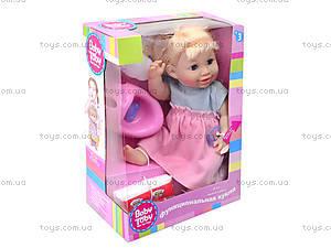 Интерактивная кукла-пупс Baby Toby с аксессуарами, 30715B6, купить