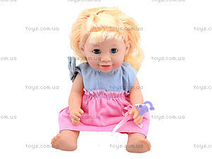 Интерактивная кукла-пупс Baby Toby с аксессуарами, 30715B6, игрушки